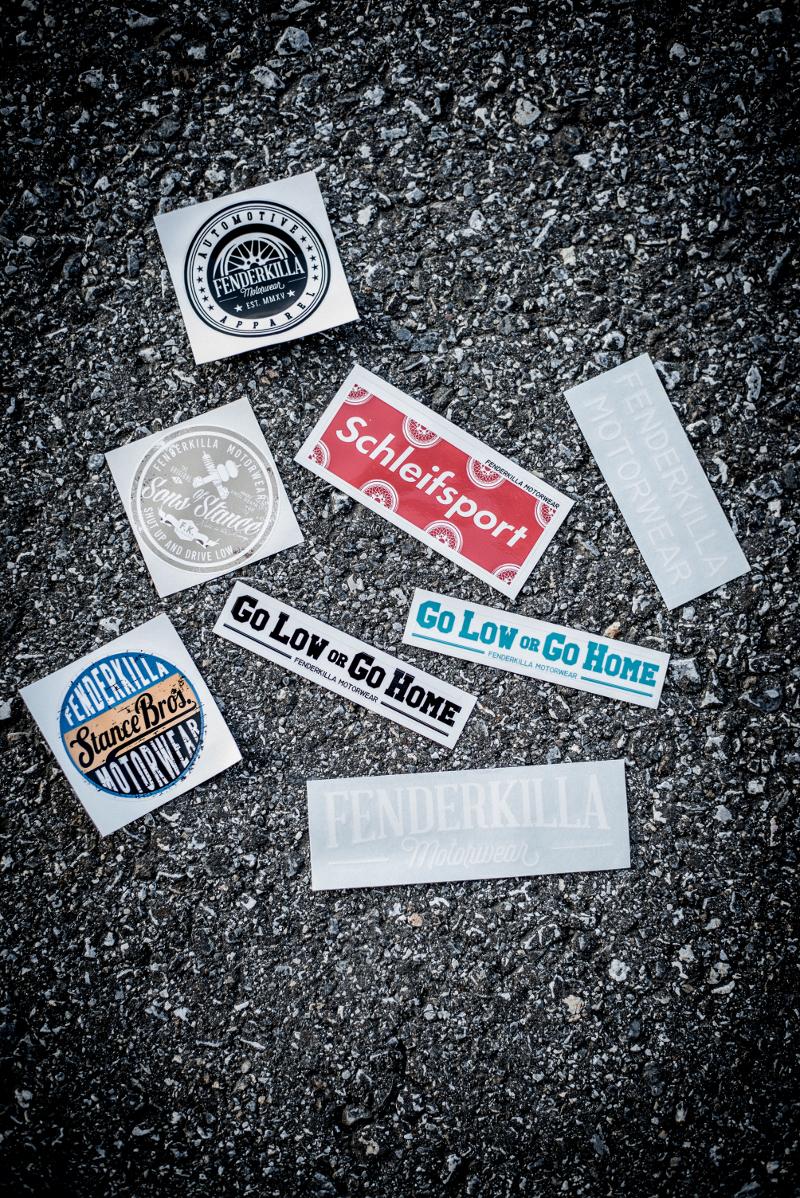 Stickerbox Fenderkilla Motorwear
