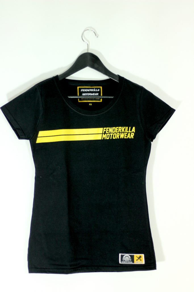 Automotive Apparel Black Girl Shirt