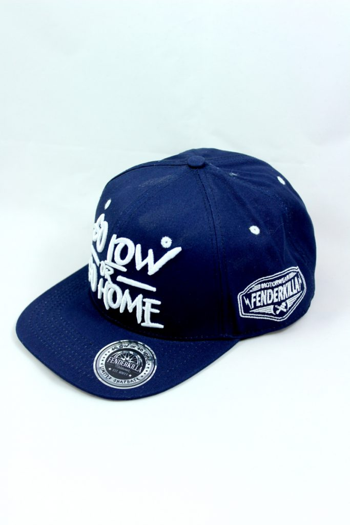Snapback – Go Low Blue-White