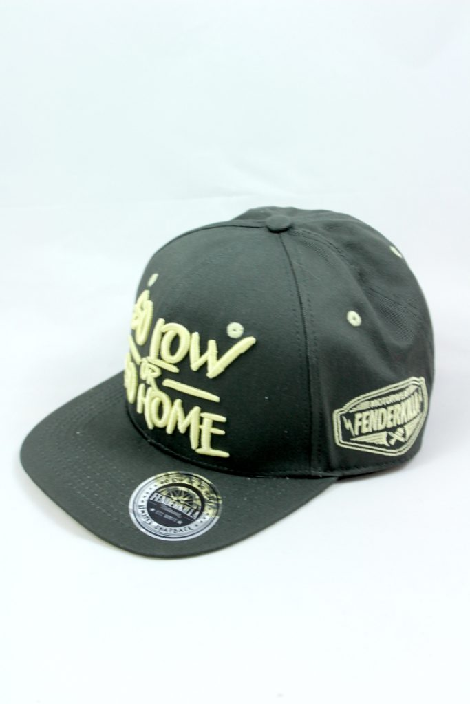 Snapback – Go Low Olive-Yellow